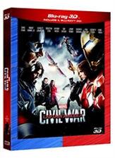 Captain America - Civil War (Blu-Ray 3D + Blu-Ray Disc)