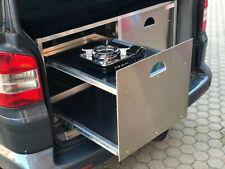 Zinram Campingbox Volkswagen VW T5 T6 Multivan Küche Auszug Heckküche