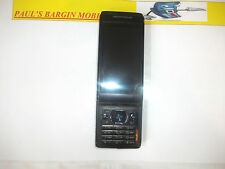 Sony Ericsson Aino - Obsidian black (Unlocked) Mobile Phone***NEEDS NEW LCD***