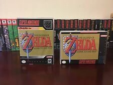 The Legend of Zelda: A Link to the Past Empty Replacement Cases. Super Nintendo