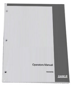 CASE IH International T 4 & T 5 Crawler Owners Operators Instruction Manual