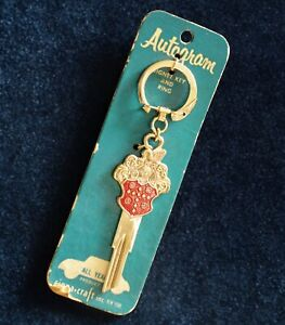 Rare Vintage Gold Plated Packard Crest Key