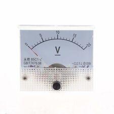 DC 0 ~ 20V 85C1-V Classe 2.5 voltmetro analogico volt Pannello di Misurator W1M6