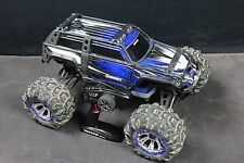 TRAXXAS 56076-4 SUMMIT 4WD MONSTER TRUCK TQI 2.4GHz NO BATT or CHARG BLUE 948