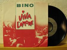 "7"" Single - BINO - Viva L´Amore - Ariola 1985"