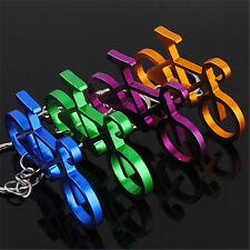 Color Available Metal Bicycle Bike Cycling Riding Key Chain Keyring Keyfob Gift