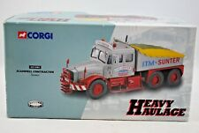 Corgi 1:50 SCAMMELL CONTRACTOR Heavy Truck in ITM SUNTER Livery Limited Edition
