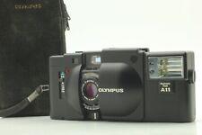 [N MINT] OLYMPUS XA 35mm Rangefinder Film Camera Body + A11 Flash from JAPAN #55