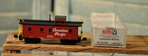 Micro-Trains N Scale Canadian Pacific 34' Wood Sheathed Caboose MTL