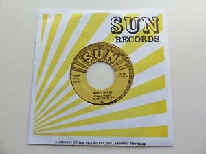 ELVIS PRESLEY  SUN 45  MONEY HONEY    SUN 522    1970s  REPRO