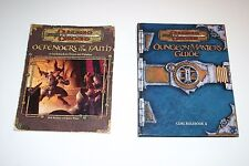 LOT Dungeons & Dragons Defenders of The Faith & Dungeon master guide