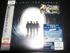 Bon Jovi ‎– The Circle - Deluxe Edition Japan CD DVD - NEW