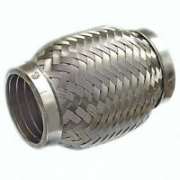 Stainless Steel Exhaust Flexible Pipe 45mm x 100mm with Interlock