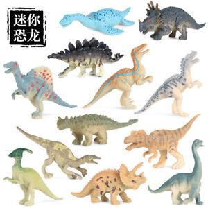 Dinosaur Toy Model Tyrannosaurus Plesiosaurus Triceratops Velociraptor Figure
