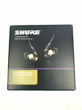 RARE CLEAR BRAND NEW Shure SE535 In-Ear Only Headphones - ships rightaway!