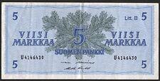 Finnland/ Finland 5 Markkaa 1963 Pick 106A (3)