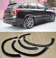 Fender Flare Kit Wheel Arch Cover Trim For 2014-2015 BMW X5 F15 4PCS picture