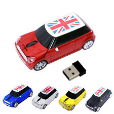 2.4G BMW Mini cooper Car Wireless Mouse USB Game optical Mice for Laptop PC gift