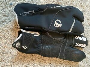 mens winter cycling gloves-Pearl Izumi Lobster Claws