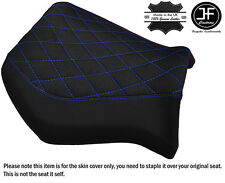 DIAMOND GRIP VINYL ROYAL BLUE ST CUSTOM FITS YAMAHA MT 03 06-14 FRONT SEAT COVER