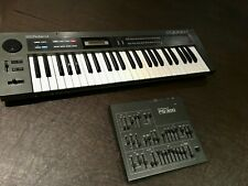 Roland Alpha Juno 1 Synth & PG-300 Programmer + Power Supplies/MIDI Cable Bundle