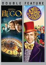 Hugo/ Willy Wonka (DVD, 2014, 2-Disc Set) New/Sealed, Free Shipping !!!