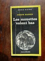Serie Noire 1730 JOSEPH HANSEN Les Mouettes Volent Bas / Gay Homosexualité EO 79