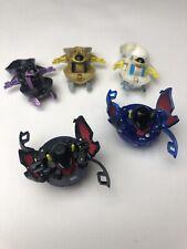 Bakugan Battle Brawlers Preyas Diablo (2) Preyas (3) Lot of 5 Super Rare