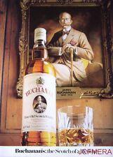 1980/81 'Buchanan's' Old Scotch Whisky Advert - Original Print AD