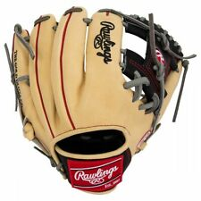 "Rawlings Heart of the Hide Pro204-2Cbg 11.5"" Baseball Glove (Tan/Blk/Red)"