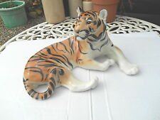TOP QUALITY RETRO CERAMIC  TIGER BY LOMONOSOV USSR