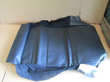 NEW GENUINE VW GOLF CABRIOLET FRONT SEAT BASE COVER LEATHER 1E0881405BCKWA