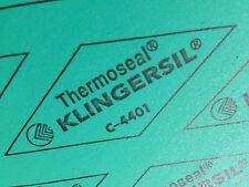 "Thermoseal Klingersil C-4401 Synthetic Sheet Gasket 1/16"" x 12"" x 12"" FREE SHIP"