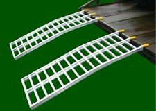"""Lawn Shed Ramps, UTV/Zero Turn 21x64,3""""arch EA, Total Weight Cap. 3600LBS Pair."""