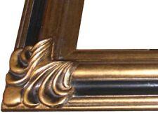 Cadre sculpté en bois, style classique! G105, Dim.40x30
