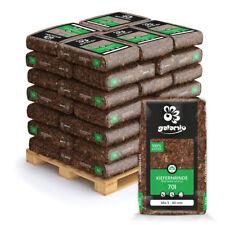 Rindenmulch Mulch Garten Deko Holz Kiefer Mix 5-60mm 70l x 36 Sack 2520l Palette