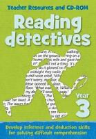 Year 3 Reading Detectives. Teacher Resources with Free Online Download by Keen K