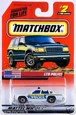 Matchbox MB 2 Ford LTD Police Ridge New York Mint On Card 1999