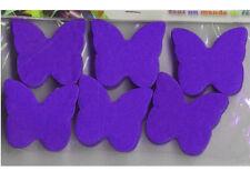 Confettis papillons violet en papier de soie 50 grammes décoration de table