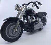 New Bright Harley Davidson Motorcycle Fatboy 88 1:12 scale vintage READ DESCRIP