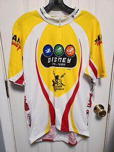 Team Disney Triathlon Jersey Sleeveless Voler Large DL 50th bike jersey