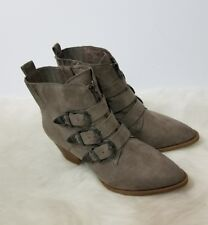 Carlos by Carlos Santana Vance  Suede  Ankle Boots Size 7.5