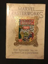 MARVEL MASTERWORKS SEALED AVENGERS VOL.4 NOS. 1-10 HARDCOVER