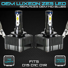 Stark 72W 7600LM Headlight LED Canbus Conversion Kit 6000K White D1S D1R D1C (B)