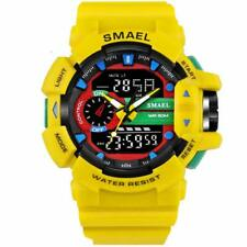 SMAEL Band S Shock Sport Watch for Men 30M Waterproof Digital Military Army 1436