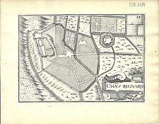 Antique map, Chasteau Regnard (Chateaurenard)