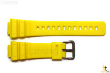 16mm Fits CASIO DW-6900 G-Shock  Yellow Rubber Watch BAND DW-6900B DW-6600