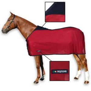 coperta per cavalli in rete di cotone antimosche
