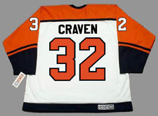MURRAY CRAVEN Philadelphia Flyers 1987 CCM Throwback Home NHL Hockey Jersey fe4ffc2a4