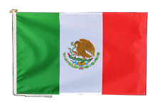 More details for mexico flag with rope and toggle - various sizes